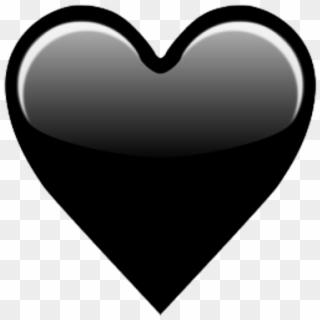 Black Heart Emoji PNG Images, Free Transparent Image Download.