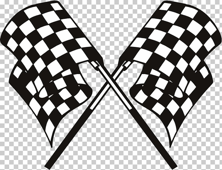 Racing flags Auto racing , FLAG RACE, black and gray checked.