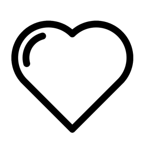 999+ Heart Clipart Black And White [Free Download].