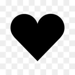 Black Heart PNG.