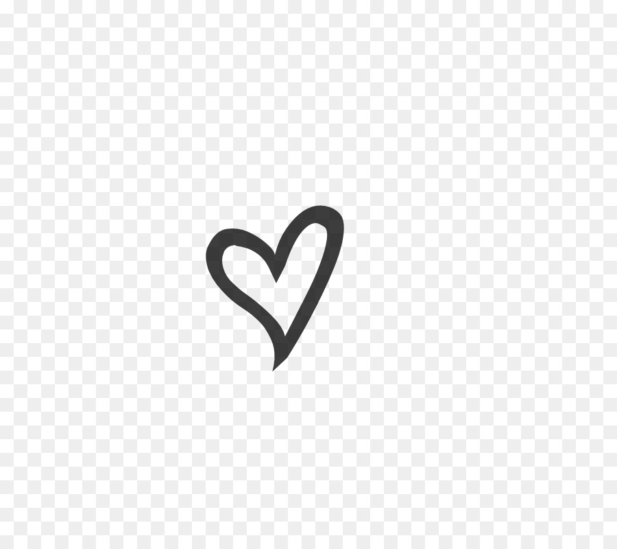 Love Black And White png download.