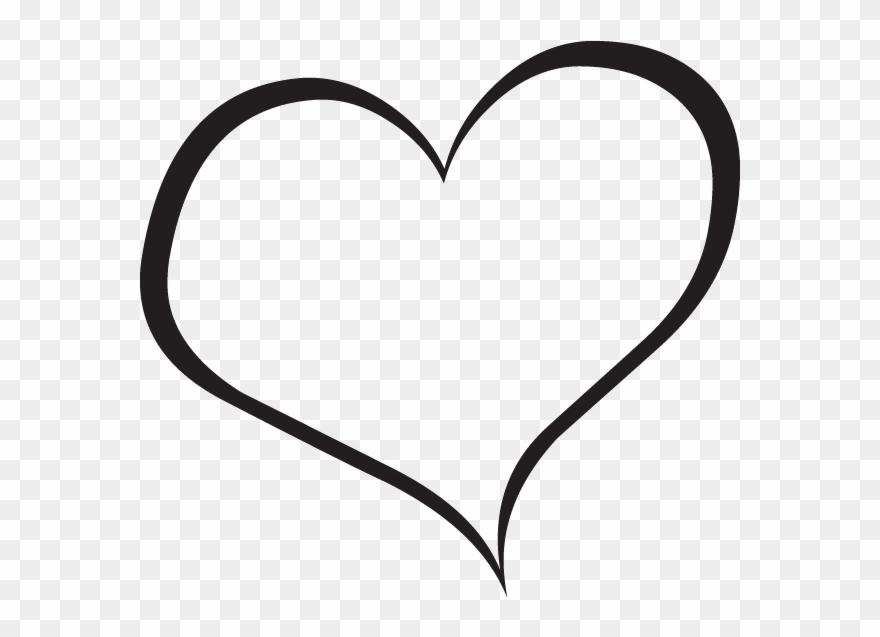 Black Heart Clipart 6 Wikiclipart Heart Clipart Clear.