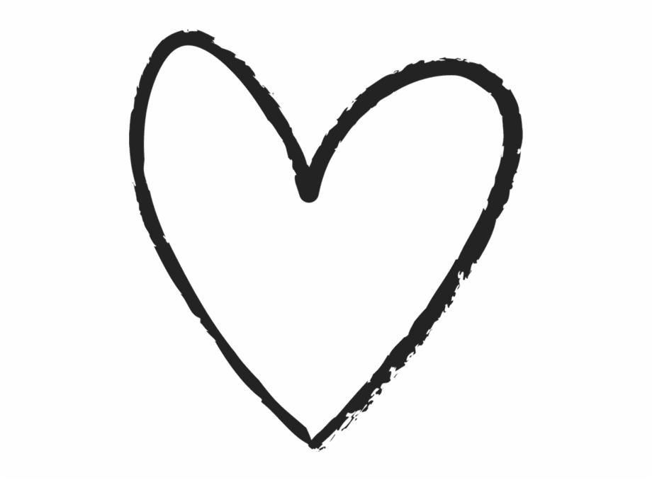 doodle #heart #black #handdrawn #pen #drawn #scribble.