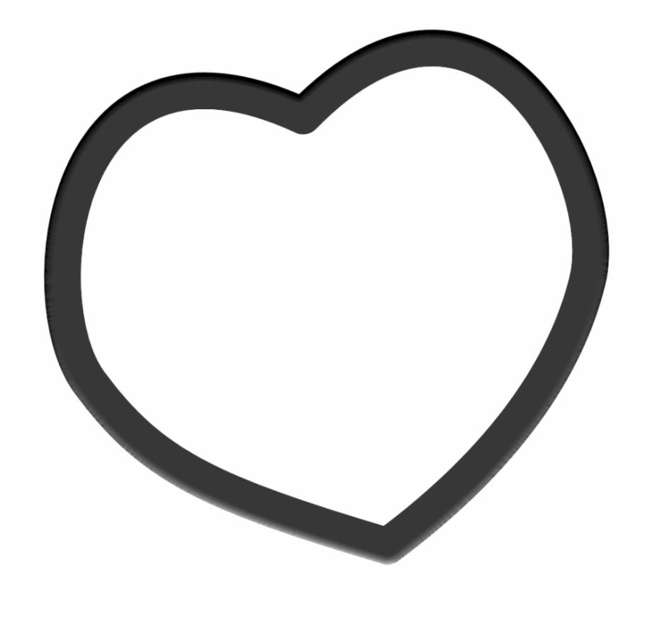 Black Heart Clip Art Free.
