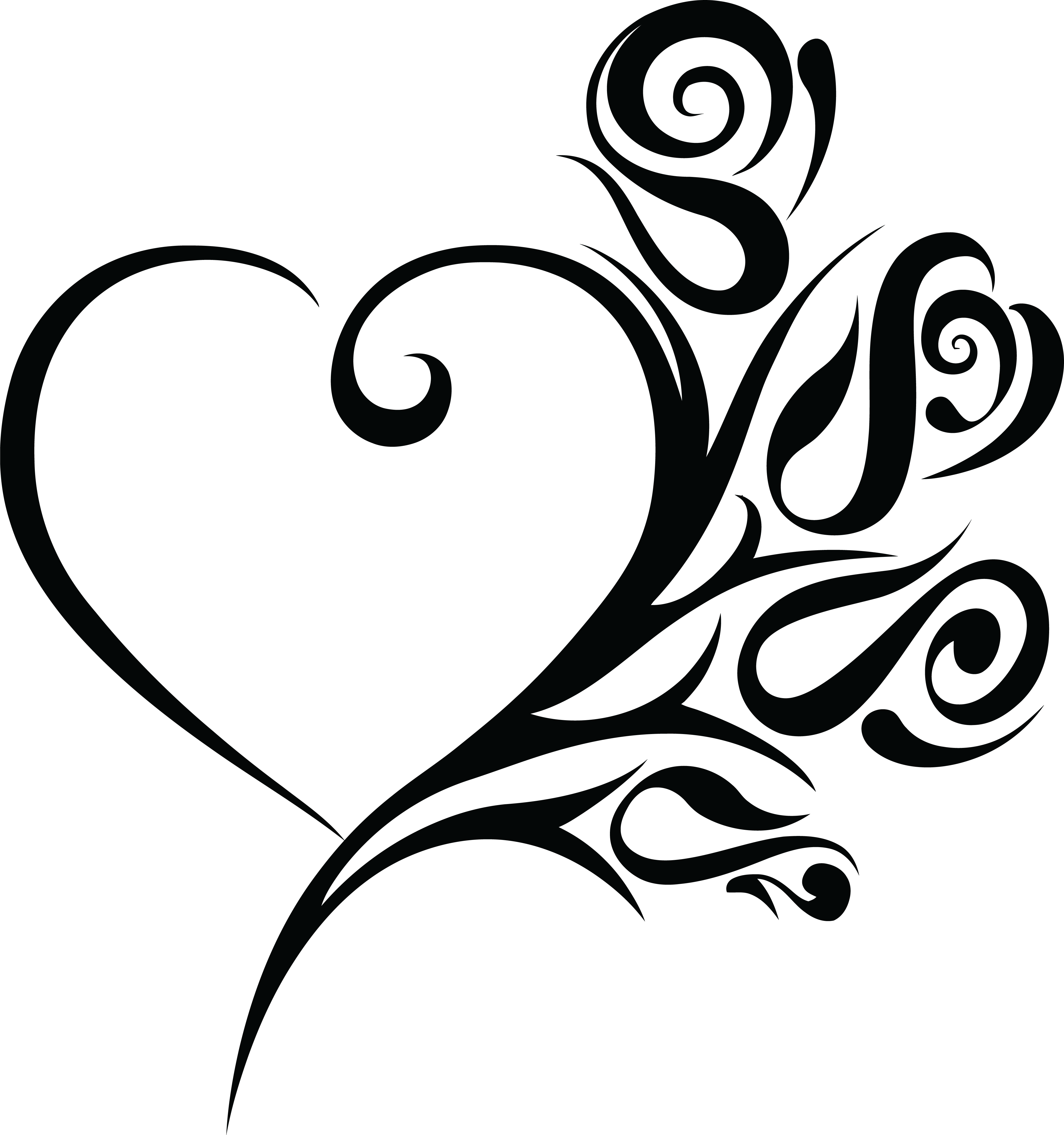 HD Hearts Clipart Wedding.