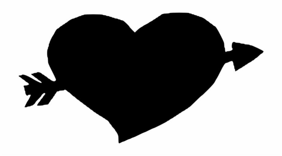 Heart With Arrow Clipart.