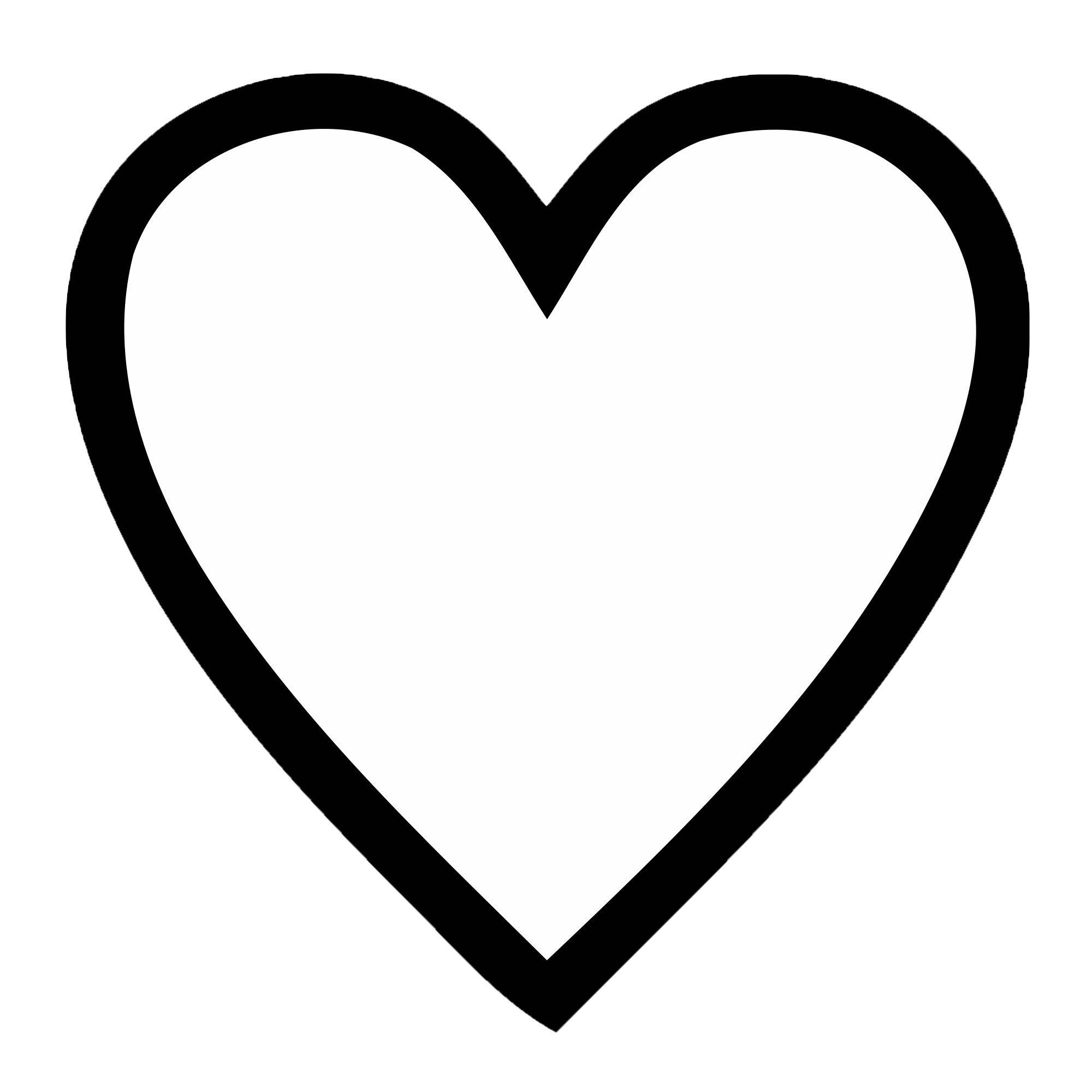 Heart Png Black Transparent.