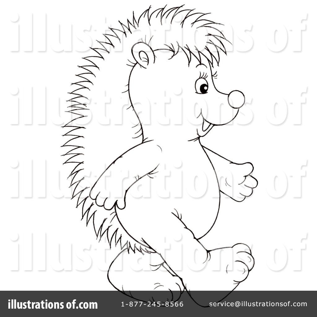 Hedgehog Clipart #1059746.