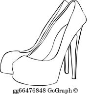 High Heels Clip Art.