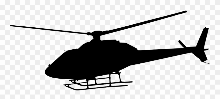 Travel, Silhouette, Helicopter, Flying, Travel.