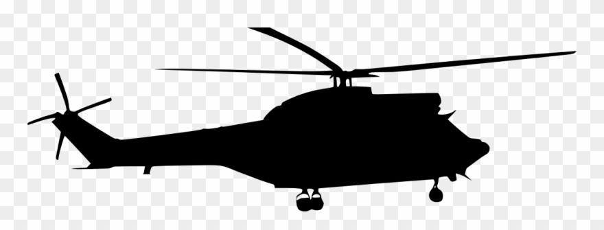 Helicopter Silhouette Png Clipart Royalty Free Stock.