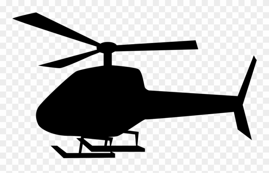 Helicopter Clipart Flying Machine.
