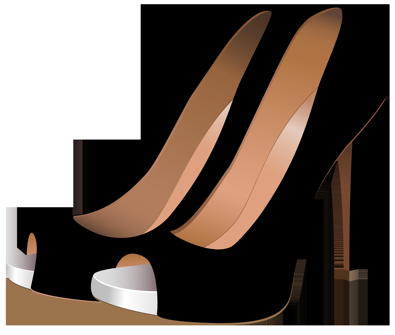 Black High Heels PNG Clip Art.