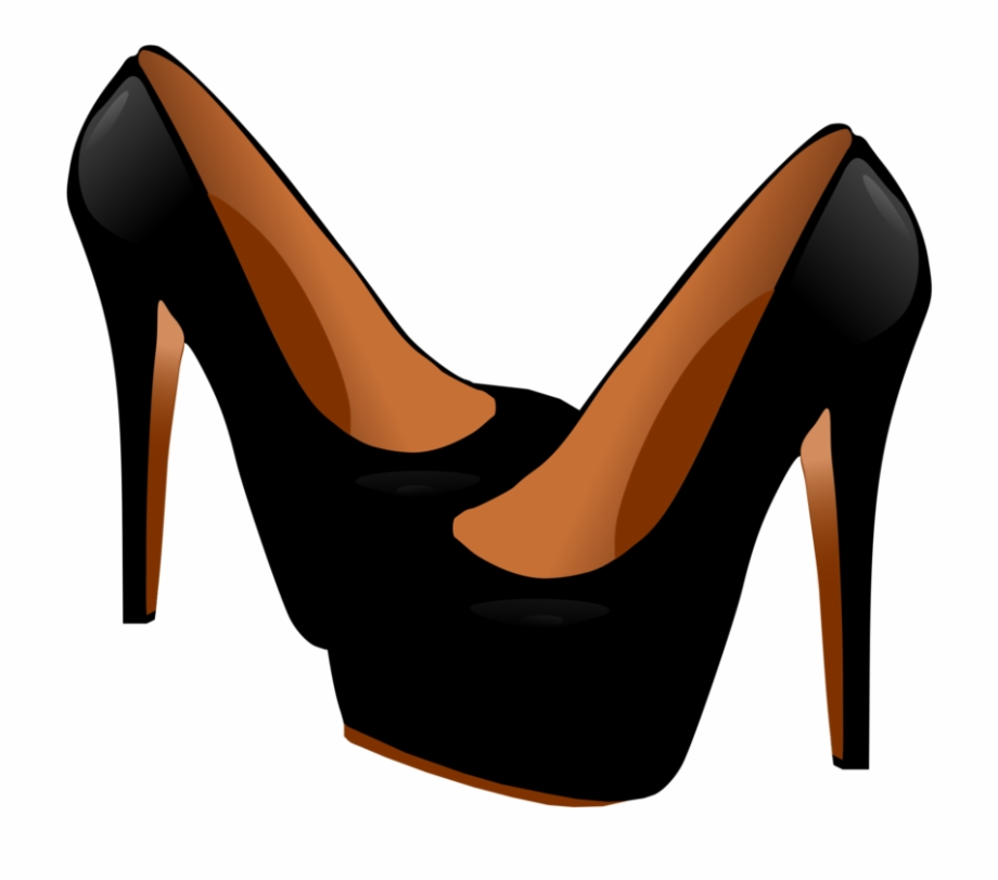 High Heels Shoes Clipart Clipartfest Black High Heels.