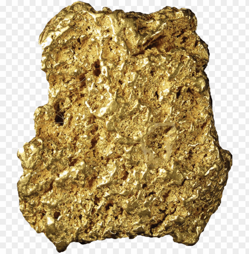 Download gold nuggets png images background.