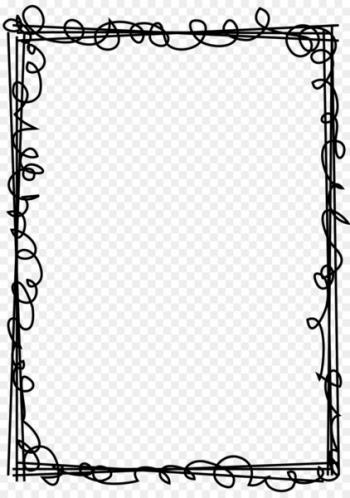 Rectangular black drawing frame art, I Have a Dream Child.