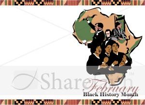 Black History Month Program Cover.