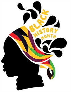 Black History Month Clip Art Covers.