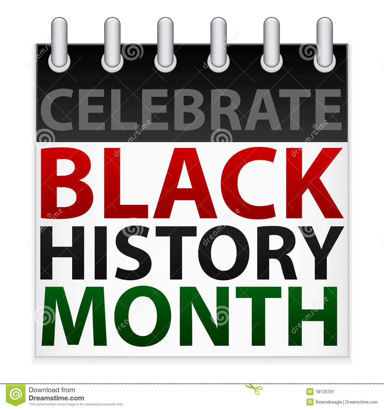 Celebrate Black History Clipart.