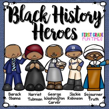Black History Month Activities Printable Readers with Writing.