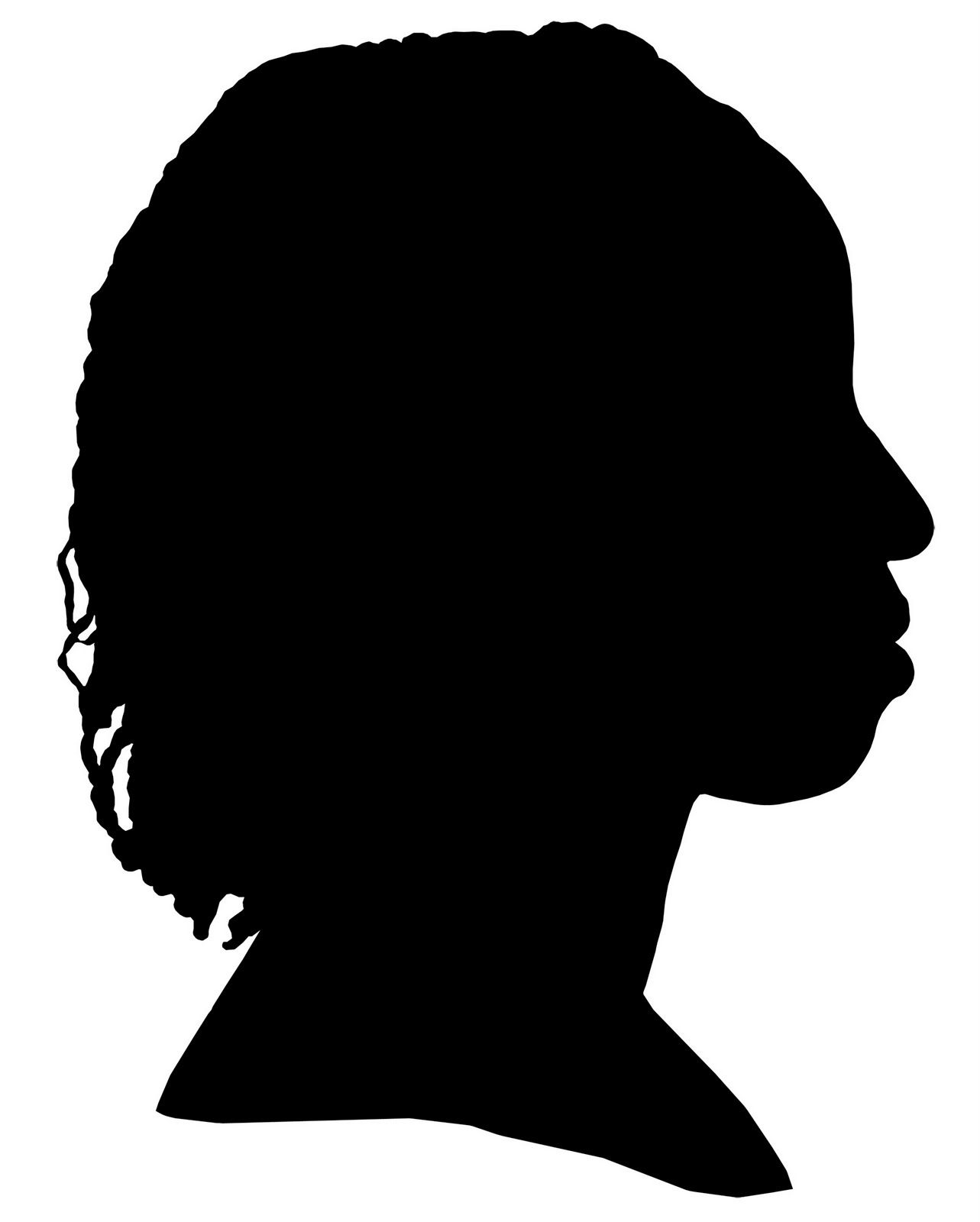 Woman Silhouette.