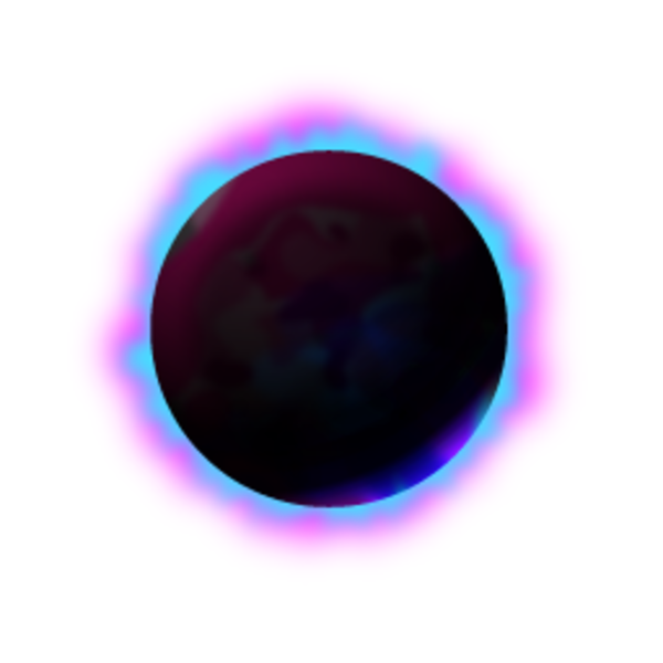 Black hole clip art.