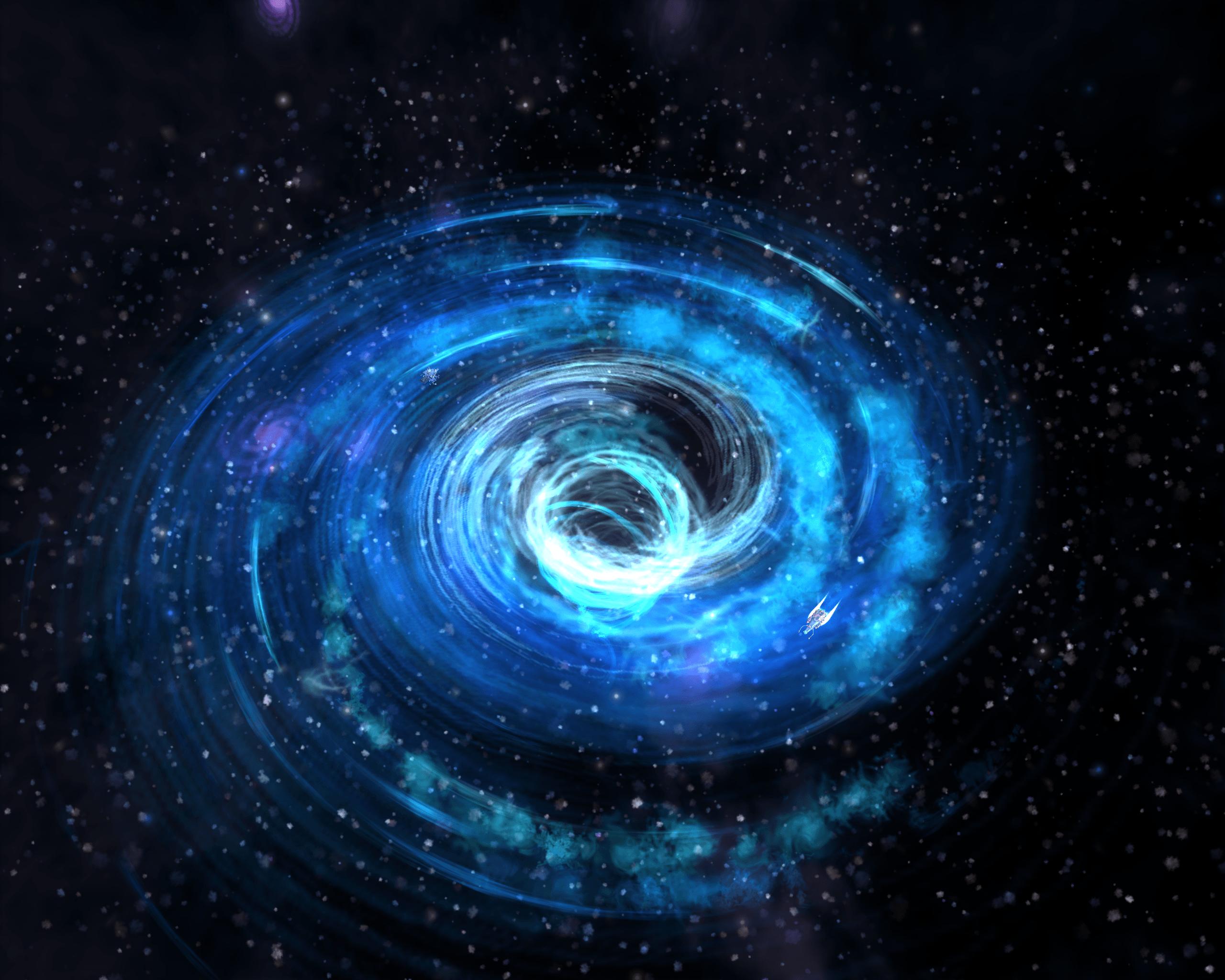 Black Hole transparent PNG.
