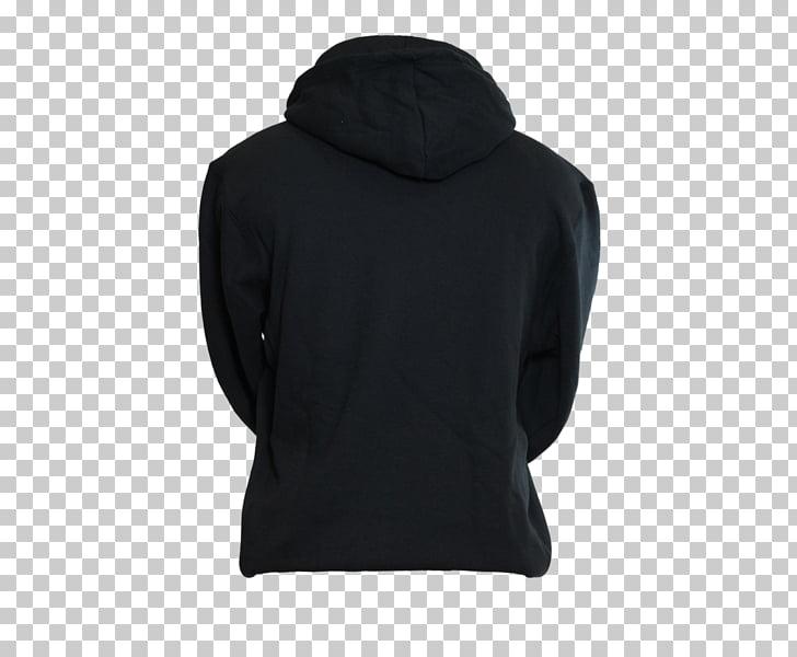 Hoodie Bluza Polar fleece Sleeve, black hoodie PNG clipart.