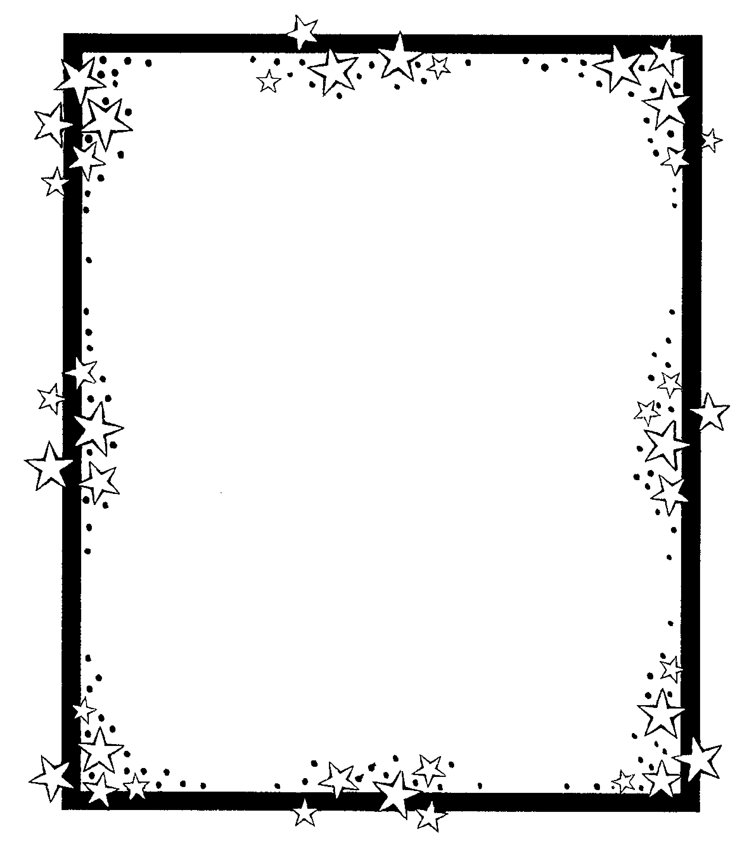 Free Page Border Black And White, Download Free Clip Art.
