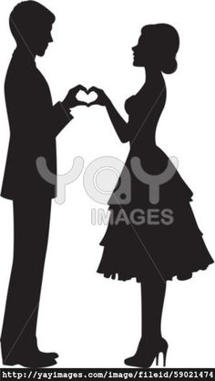 Sketch Of Man And Woman Hands Clipart.