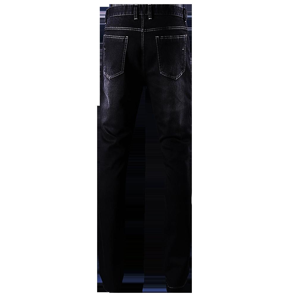 Panther Black Denim Jeans.