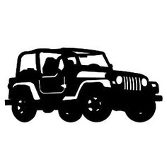 Free Jeep Silhouette Vector, Download Free Clip Art, Free.