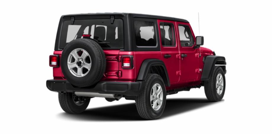 New 2019 Jeep Wrangler Unlimited Sahara.