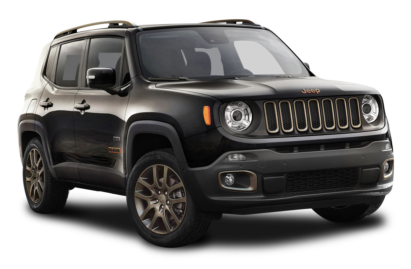 Download Black Jeep Renegade Car PNG Image for Free.