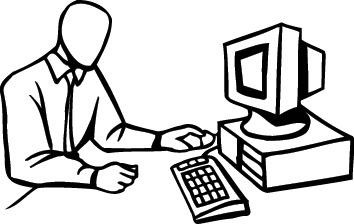 Free Computer Line Art, Download Free Clip Art, Free Clip.