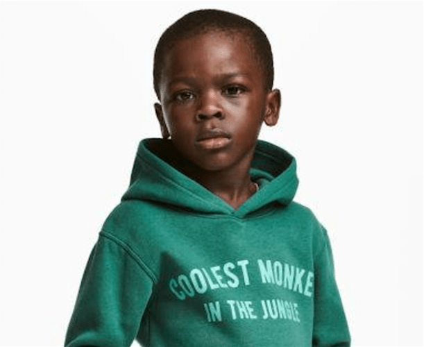 H&M Apologizes for Photo of Black Kid in