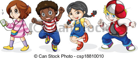 Black kids clipart 6 » Clipart Station.
