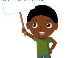 Black kids clipart 9 » Clipart Portal.