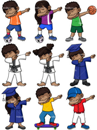 Black Kid Dabbing.