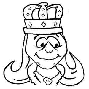 Black King And Queen Clipart.