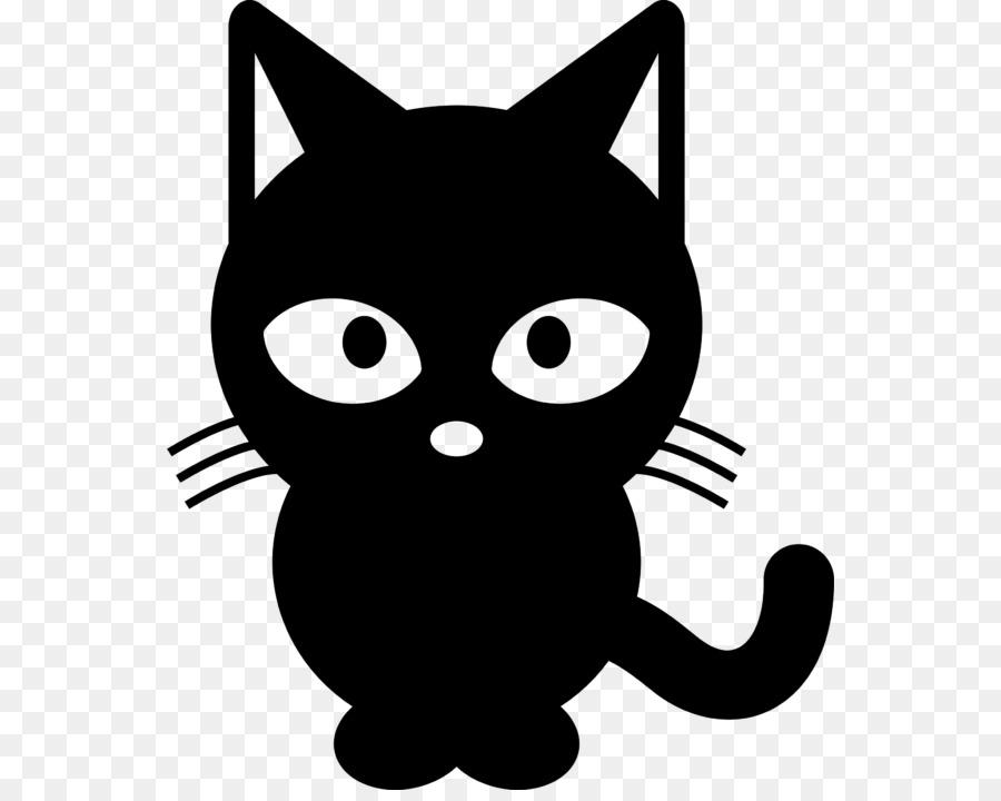 Black cat Clip art Kitten Tabby cat.