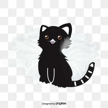 Black Kitten Png, Vector, PSD, and Clipart With Transparent.