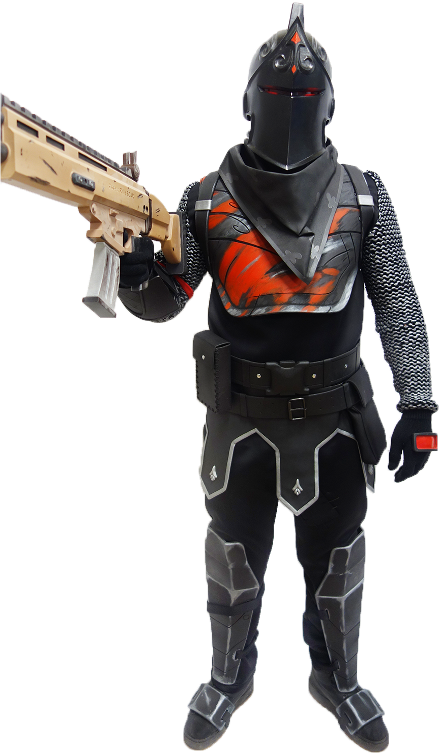 HD Black Knight Back Shield.