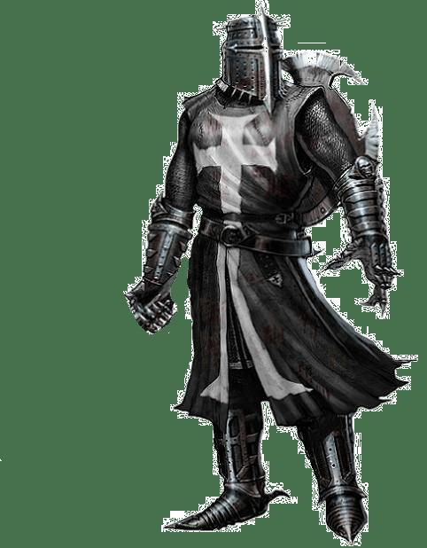 Black Knight transparent image.