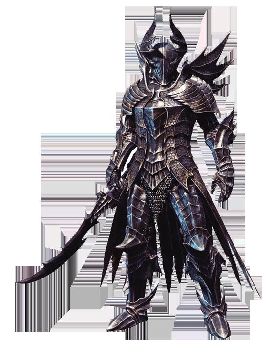 The Black Knight 「黒騎士」.