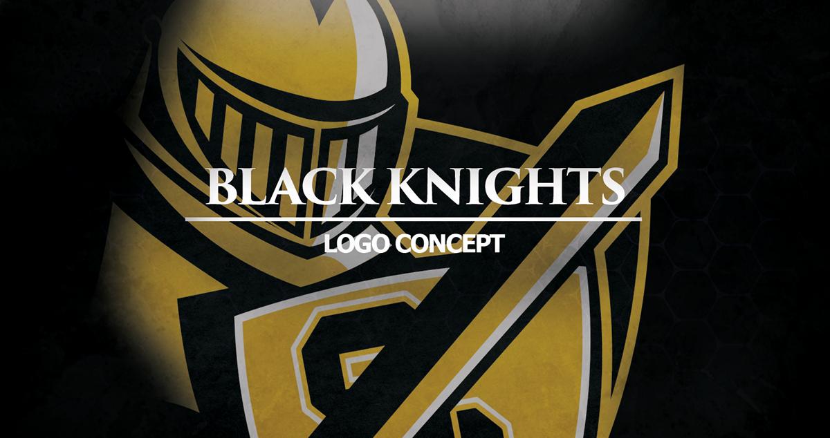 Black Knights Logo Concept on Behance.