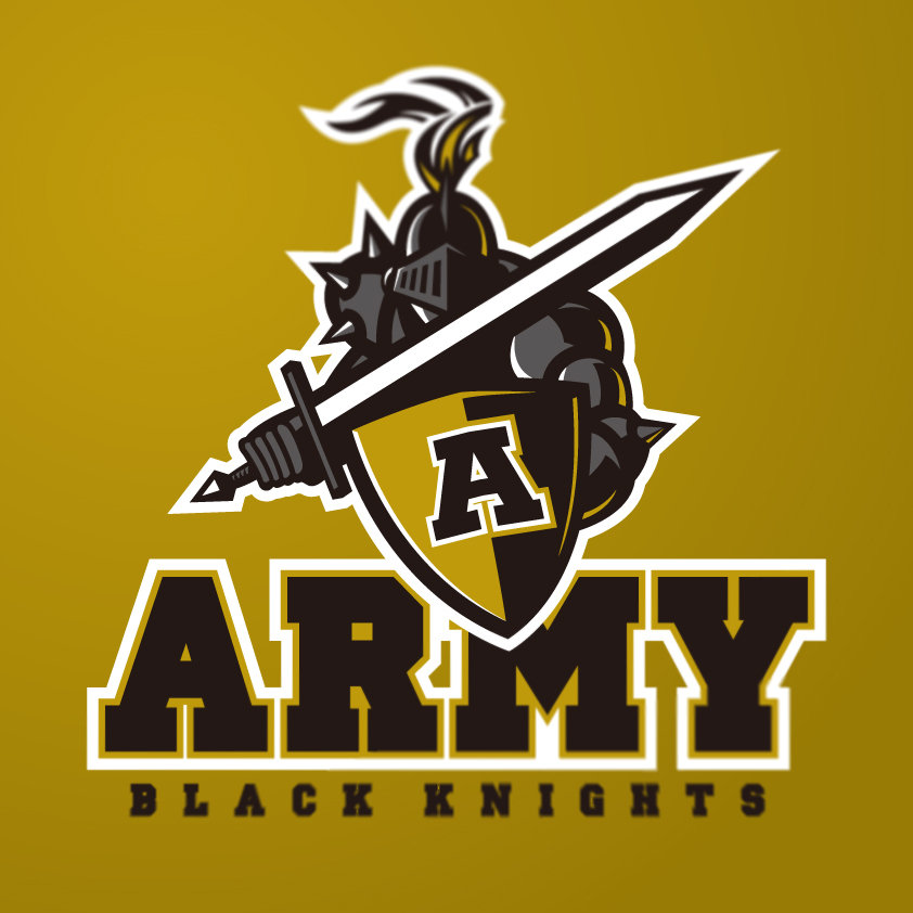 Army Black Knights logo concept on Behance.