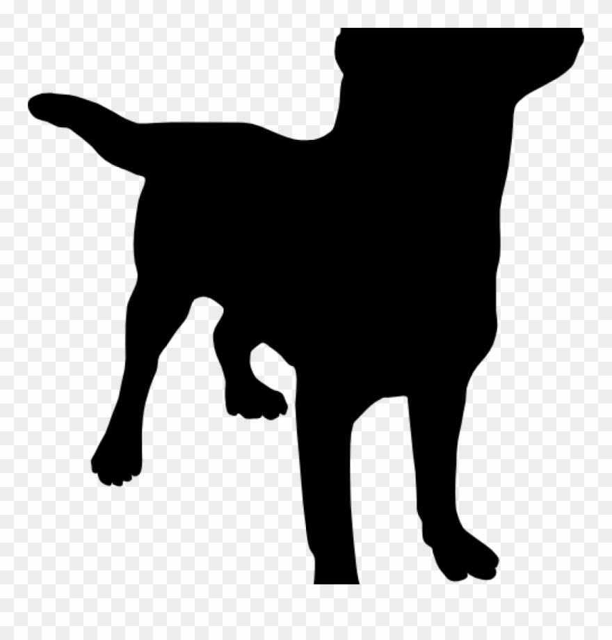 Black Lab Clip Art Silo At Clker Vector Online Animations.