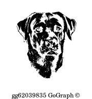 Labrador Clip Art.