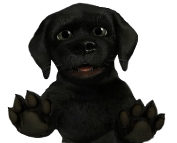 Black Lab .PNG, owned by GraphicHelp.